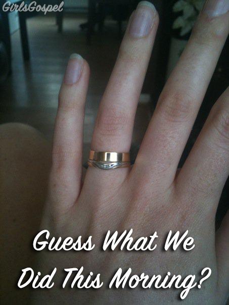 secret wedding ring