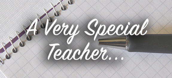 special teacher - words