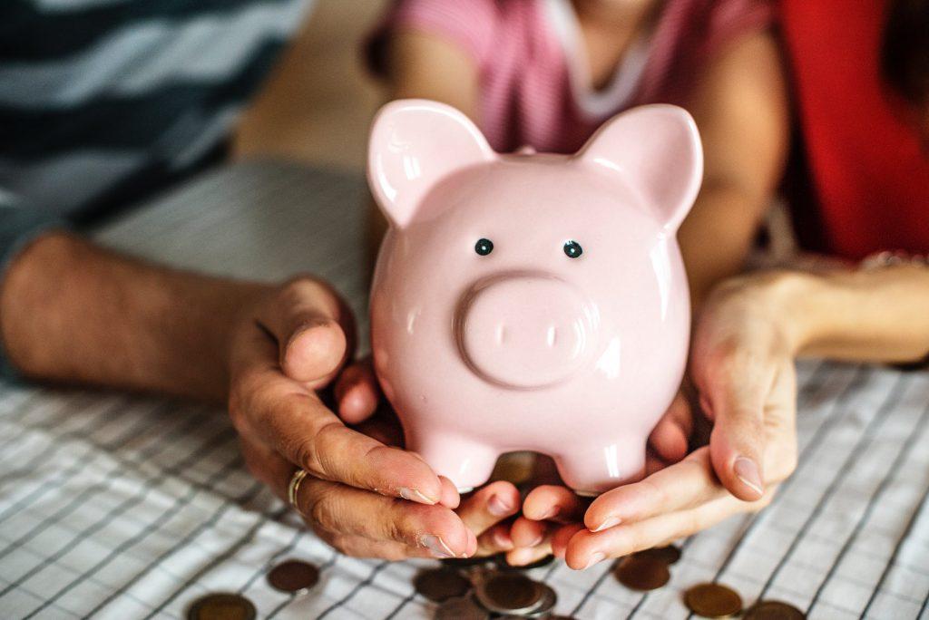 saving money - piggy bank