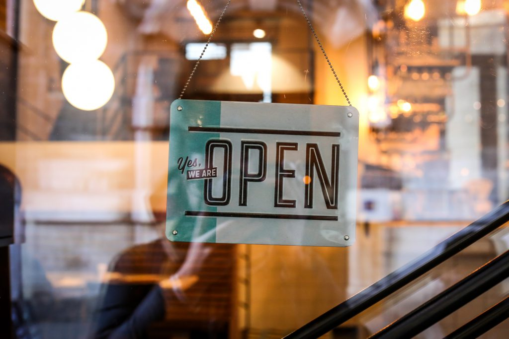improve your retail store's performance - shop open sign