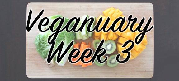 Week 3 of Veganuary