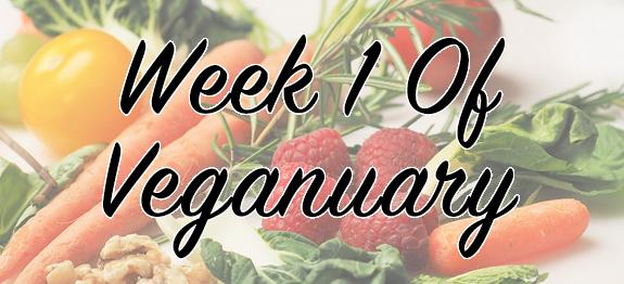 week 1 of veganuary - writing